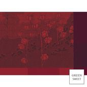 Paysage Scarlet Placemat, GS Stain Resistant-4ea