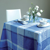 "Tablecloth Mille Wax Ocean 35""x35"", cotton"