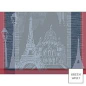 Parisienne Ardoise Placemat, GS Stain Resistant-4ea
