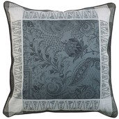 "Persina Noir Cushion Cover 20""x20"", Cotton-2ea"