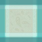 """Mille Gardenias Lagon 22""""x22"""" Napkin, 100% Cotton - Set of 4"""