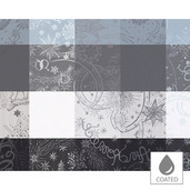 "Mille Couleurs Orage Placemat 16""x20"", Coated Cotton"