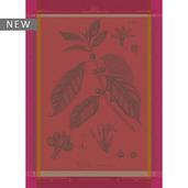 """Cafe Botanique Rose Kitchen Towel 22""""x30"""", 100% Cotton"""