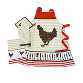 Le Poulet Chataigne Kitchen Set