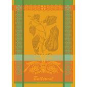 """Butternut Orange Kitchen Towel 22""""x30"""", 100% Cotton"""