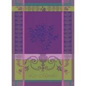 """Myrtilles Violet Kitchen Towel 22""""x30"""", 100% Cotton"""