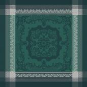 "Fontainebleau Vert Profond Napkin 21""x21"", 100% Cotton"