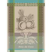 Noix De Coco Tropiques Kitchen Towel, Cotton