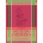 "Grenade Rose Kitchen Towel 22""x30"", 100% Cotton"