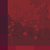 Paysage Scarlet Napkin, Cotton-4ea