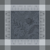 "Persina Noir Napkin 21""x21"", 100% Cotton"