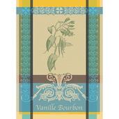 """Vanille Bourbon Eden Kitchen Towel 22""""x30"""", 100% Cotton"""
