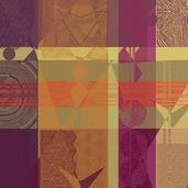 """Mille Tingari Terre Rouge Napkin 22""""x22"""", 100% Cotton"""