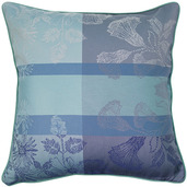 "Mille Fiori Givre Cushion Cover  16""x16"", 100% Cotton"