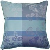 """Mille Fiori Givre Cushion Cover  16""""x16"""", 100% Cotton"""
