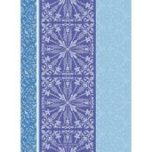 "Cassandre Tor Saphir Kitchen Towel 22""x30"", 100% Cotton"