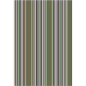 "Sombrilla Olive 20""x28"" Kitchen Towel, 100% Linen"