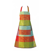 "Mille Couleurs Paris Apron 31""x35"", 100% Cotton"