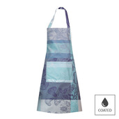 "Mille Fiori Givre Apron 30""x33"", Coated Cotton"
