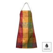 """Mille Alcees Litchi Apron 30""""x33"""" Coated Cotton"""