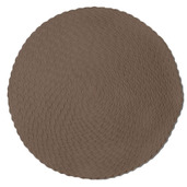 Rosette Chocolate Vinyl Placemat