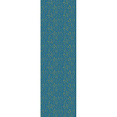 """Mille Branches Mini Paon Tablerunner 71""""x22"""", 100% Cotton"""