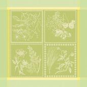 """Herbora Prairie 21""""x21"""" Napkin, 100% Cotton - Set of 4"""