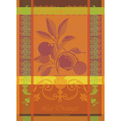 """Les Oranges Sanguine Kitchen Towel 22""""x30"""" Cotton"""