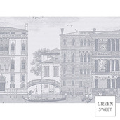 Veneziano Sfumato Placemat, Stain Resistant-4ea
