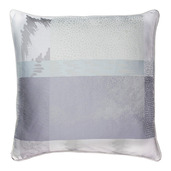 "Mille Matieres Vapeur Cushion cover 16""x16"", 100% Cotton"