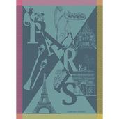 Paris Boheme Folies Kitchen Towel, Cotton