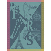 Paris Boheme Folies Kitchen Towel, Cotton