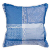 Cushion Cover Sm Mille Wax Ocean, Cotton - 2ea
