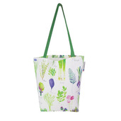 "Mille Potager Printemps Tote bag 15""x15"", 100% Cotton"