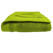 "Ligne Bambou Green Bath Sheet 39""x59"", Bamboo/Cotton"