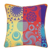 "Mille Tornades Pop Cushion Cover 20""x20"", Cotton-2ea"
