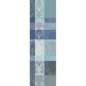 "Mille Fiori Givre Tablerunner 22""x71"", Cotton"