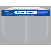Reusable Face Shields - 12pcs