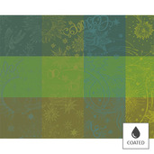 Placemats Mille Couleurs Lime, Coated - 4ea