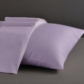 Desire Collection Lilac King Sheet Set 400TC, 100% ELS Cotton, Plain Sateen.