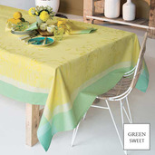 "Champ De Ble Soleil Tablecloth 45""X45"", GS Stain Resistant"
