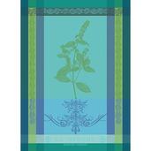 """Brin De Menthe Chlorophylle Kitchen Towel 22""""x30"""", 100% Cotton"""