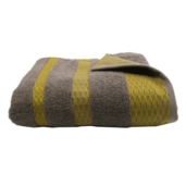 Massai Taupe Bath Towel