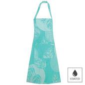 Mille Verdoyant Turquoise Apron, Coated