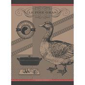 Foie Gras Lisere Rouge Kitchen Towel, Cotton