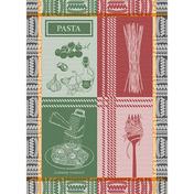 Al Dente Rosso E Verde Kitchen Towel