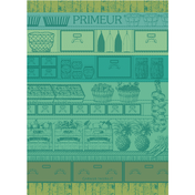 The Green Kitchen Towel, Cotton
