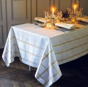 "Tablecloth Tuileries Or 68""x99"", GS"