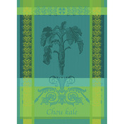 Chou Kale Bleu Kitchen Towel, Cotton