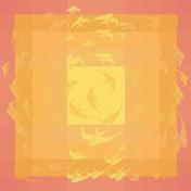 "Envolee Soleil Tablecloth 69""x69"", GS Stain Resistant"